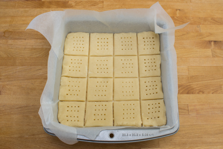 17. Shortbread, ready to bake