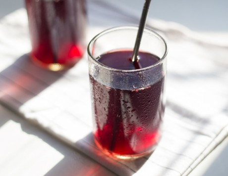 Cherry and Ginger Kvass