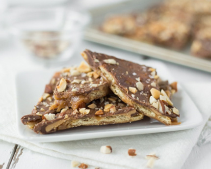 Brown Butter Cracker Toffee