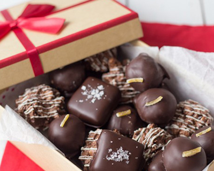 Homemade Assorted Box of Chocolates
