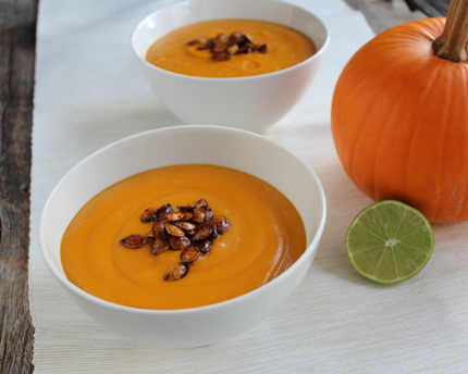 Tasty and Simple Thai Pumpkin Soup