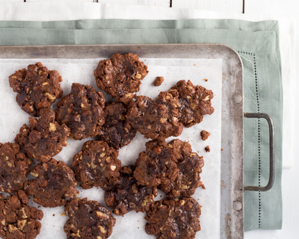 Chewy Brownie Cookies