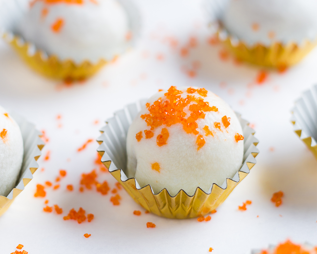 Orange Cream Bites