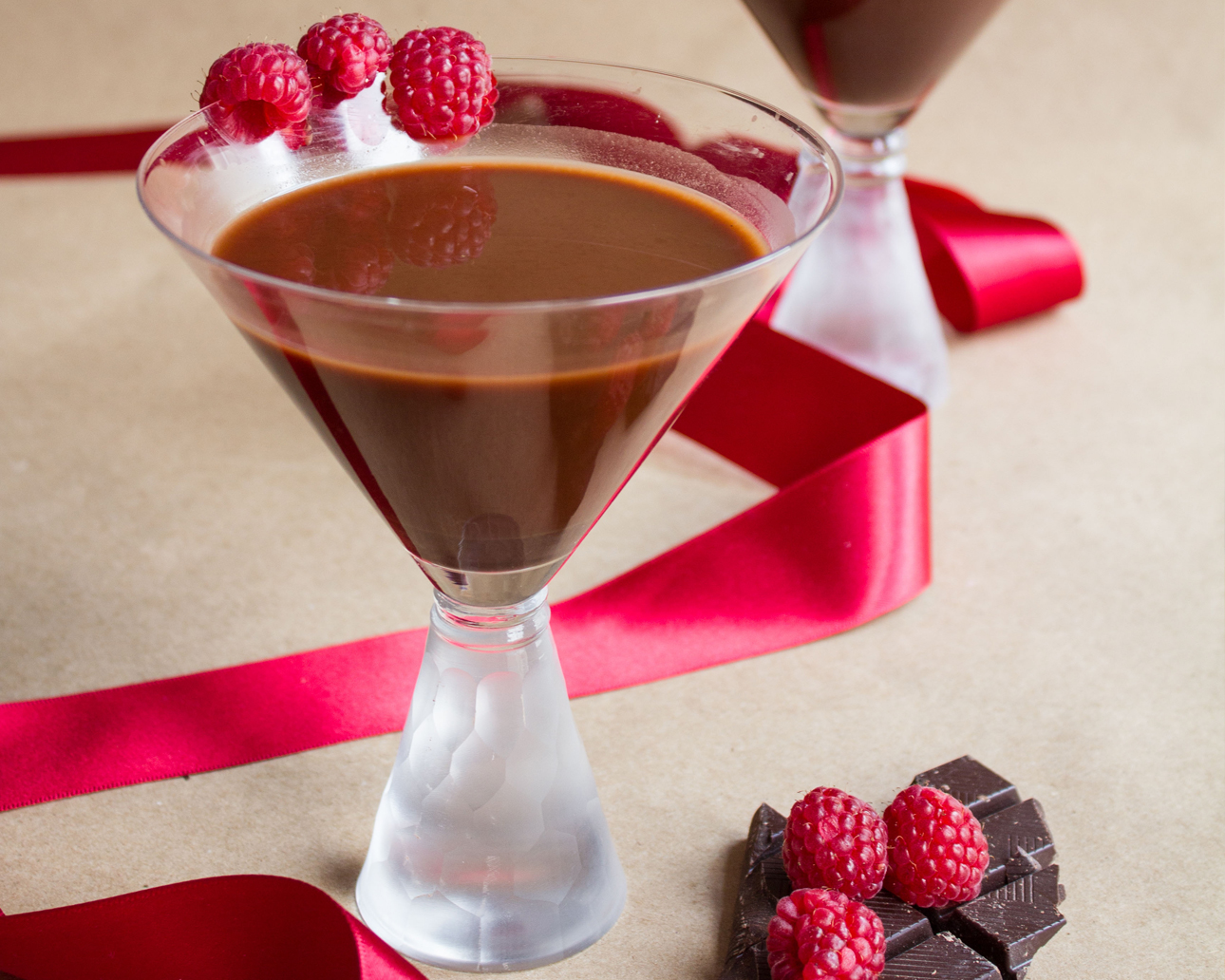 Simple and Decadent Chocolate Martini