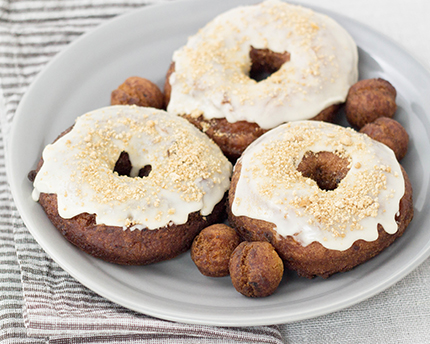 Maple Potato Donuts