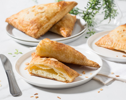 Ricotta Cheesecake Turnovers