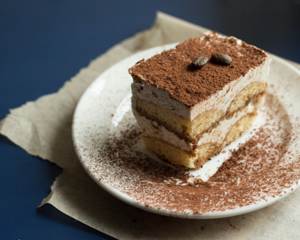 No-Bake Frozen Tiramisu