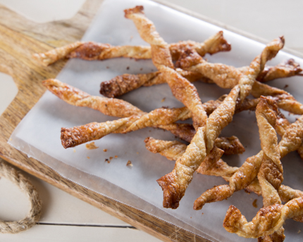Spiced Maple Pastry Straws