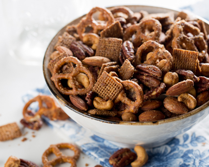 Salted & Spiced Maple Party Mix