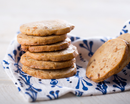 Fig and Walnut Freezer Cookies