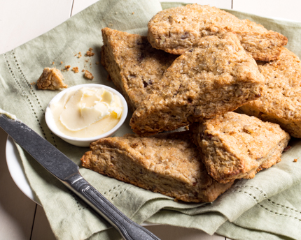 Chinese 5-Spice and Pecan Scones