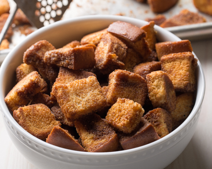 Sweet Maple Croutons