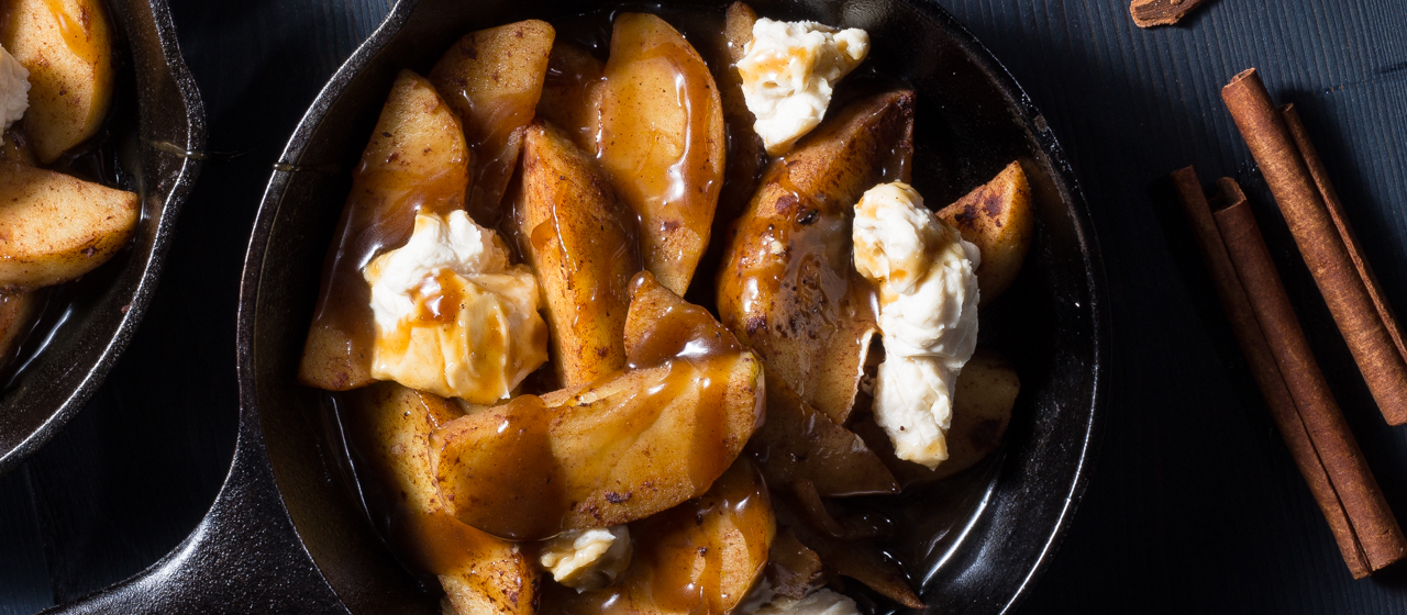 Cinnamon Apple Dessert Poutine