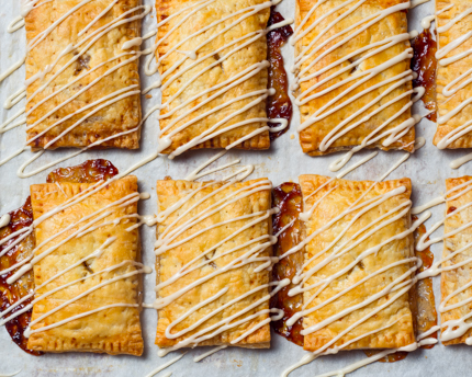 Brown Sugar Pear Strudel Pockets