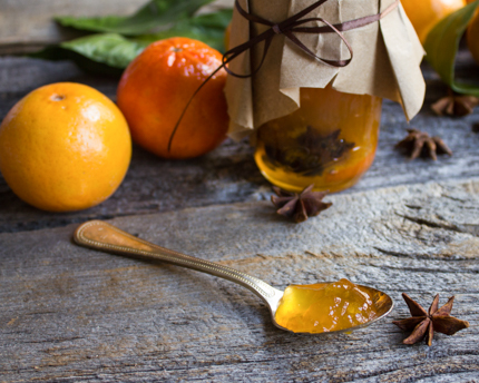The Perfect Winter Jam: Mandarin and Clementine Preserves with Star Anise