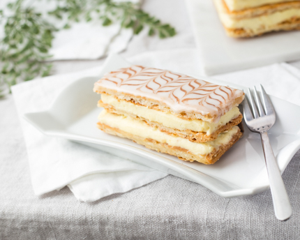 Classic Mille-Feuille Cake