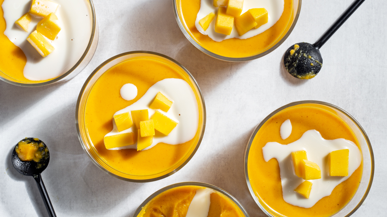 Tropical Mango Pudding