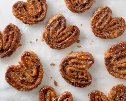 Gingerbread Palmiers